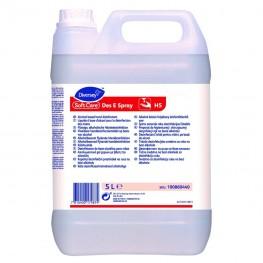 SOFT CARE DES E - SPRAY - Dezinfectant lichid pentru maini, 5 litri