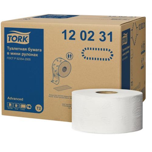 Hartie igienica mini-jumbo - RJA TORK ECO